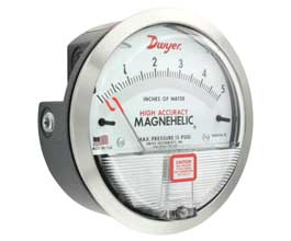 Ohio Valley Industrial Services- Level, Temperature, Flow, and Pressure Instrumentation- Series 2000 Magnehelic® Differential Pressure Gages