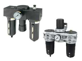 Ohio Valley Industrial Services- Filtration Division- Filter Regulator Lubricator (FRL) Combos