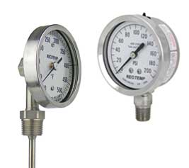 Ohio Valley Industrial Services- Industrial Gauges and Instrumentation- Temperature & Pressure Instrumentation