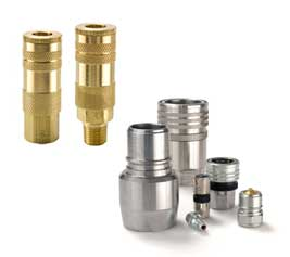 Ohio Valley Industrial Services- Tube Fittings, Valves, and Related Materials- Quick Couplings