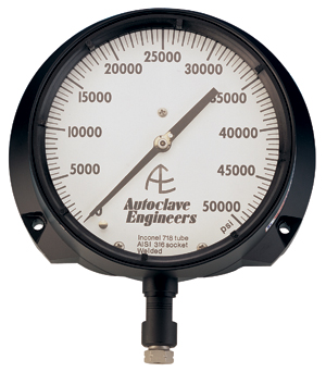 Ohio Valley Industrial Services- High Pressure Instrumentation- Parker Autoclave Engineers- Pressure Gauges