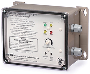 Ohio Valley Industrial Services- Tracing and Controls- Chromalox Snow and Ice Melting Controls- GF Pro Snow Switch