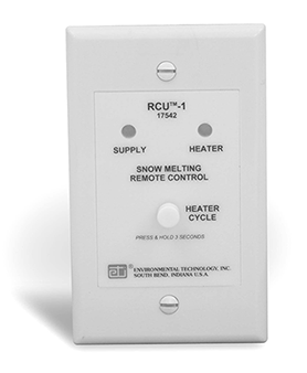 Ohio Valley Industrial Services- Tracing and Controls- Chromalox Snow and Ice Melting Controls- RCU Remote Control Unit