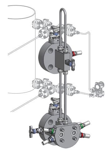 Ohio Valley Industrial Services- Parker Instrumentation, Manifolds, and Valves- CCIMS® Level-Flange