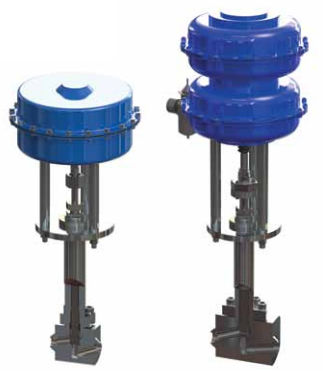 Ohio Valley Industrial Services- Instrumentation, Manifolds, and Valves- Marine Valves for Industrial Marine Applications- Cryogenic HP Pneumatic Actuated Globe Valve- DN50 Pneumatic Actuated Stainless Steel Globe Valve