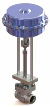 Ohio Valley Industrial Services- Instrumentation, Manifolds, and Valves- Marine Valves for Industrial Marine Applications- Cryogenic Actuated Globe Valve- Pneumatically Actuated DN15 - DN150