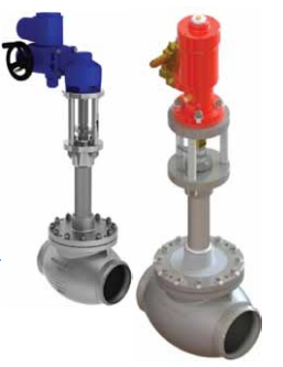 Ohio Valley Industrial Services- Instrumentation, Manifolds, and Valves- Marine Valves for Industrial Marine Applications- Cryogenic Actuated Globe Valve- Hydraulically Actuated DN25 - DN350