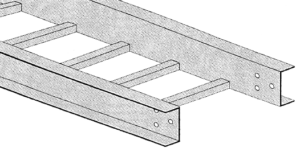 Ohio Valley Industrial Services- Raceway and Cable Tray Systems- Stainless Steel Ladder Type Cable Tray