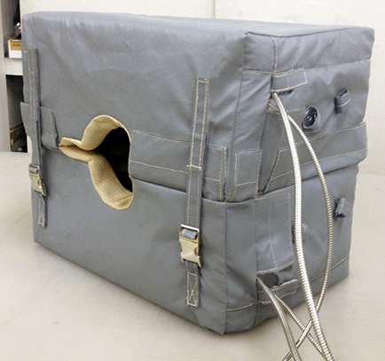 Ohio Valley Industrial Services- Instrument Enclosures- HotCaps™ Removable Insulation Covers