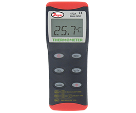 Ohio Valley Industrial Services- Dwyer- Model 472A-1 Dual Input Thermocouple Thermometer